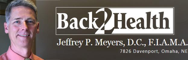 Dr Jeffrey Meyers, Omaha chiropractor